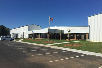 Arctic Chiller Group U.S. manufacturing facility in Newberry, South Carolina