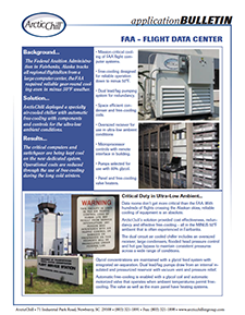 Arctic Case Study: FFA Flight Data Center Cooling