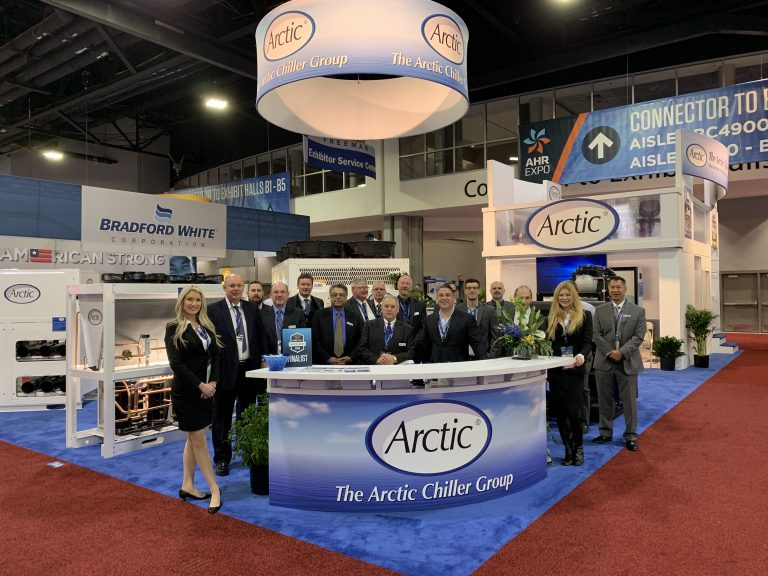 Arctic Chiller Group Wins Award at the AHR Exposition for New Products